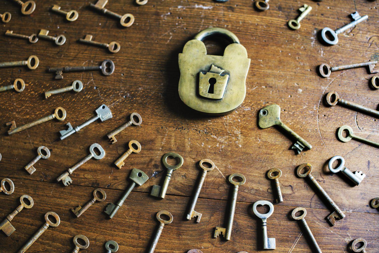 пять ключей картинки всего